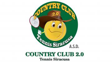 Logo del centro sportivo Country Club Tennis Siracusa 2.0